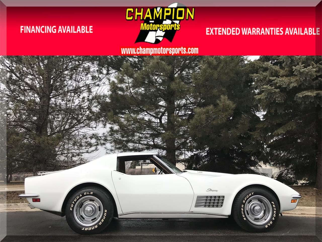 Large Picture of '72 Corvette - N55L