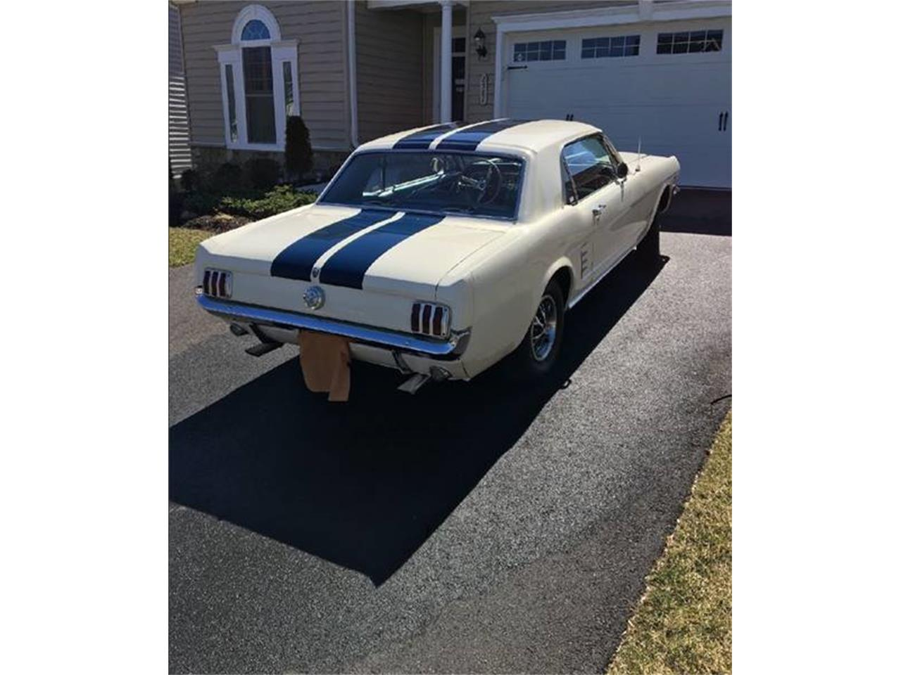 Large Picture of Classic 1966 Ford Mustang located in Clarksburg Maryland Offered by Eric's Muscle Cars - N5BO