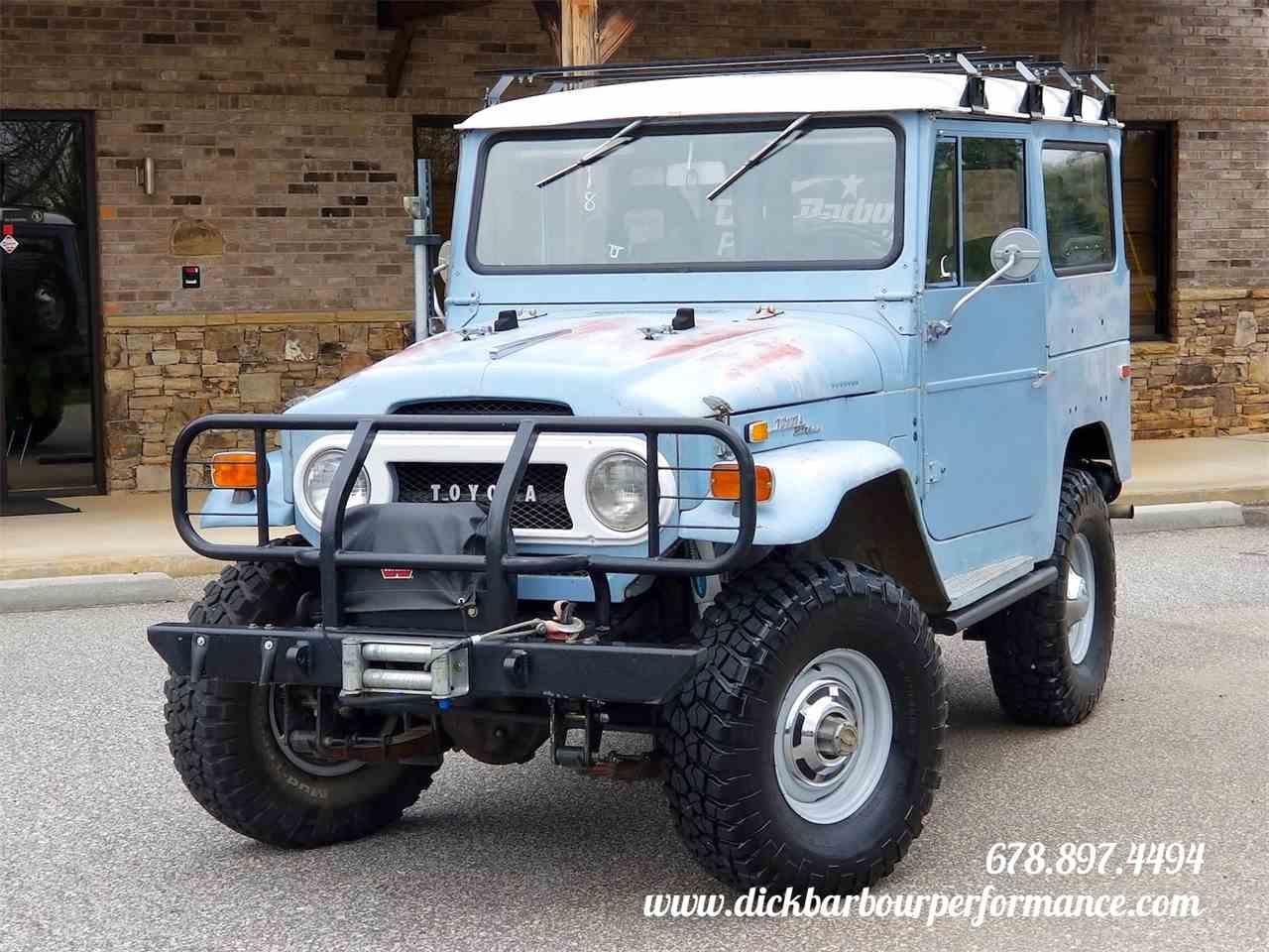 1971 Toyota Land Cruiser Fj40 For Sale Classiccars Com