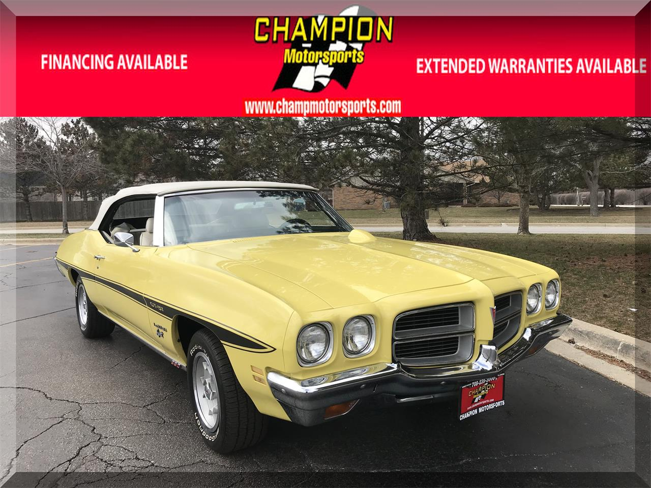 Large Picture of '72 LeMans - N698
