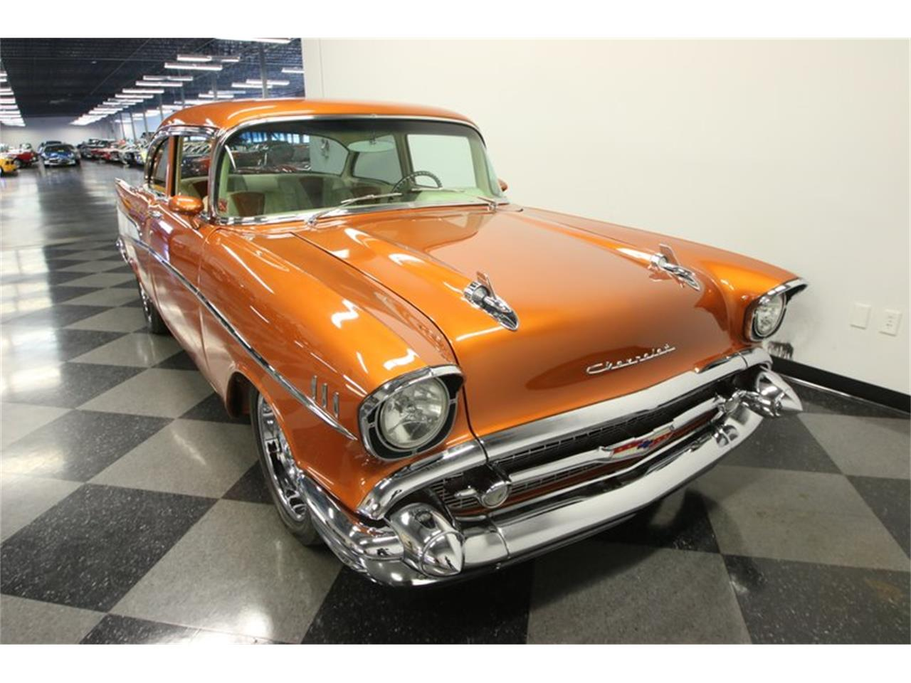 Large Picture of Classic 1957 Chevrolet 210 located in Lutz Florida Offered by Streetside Classics - Tampa - N6BS