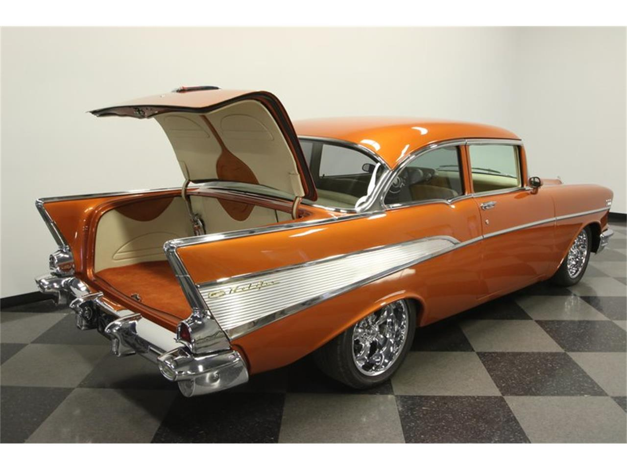 Large Picture of 1957 Chevrolet 210 located in Florida Offered by Streetside Classics - Tampa - N6BS