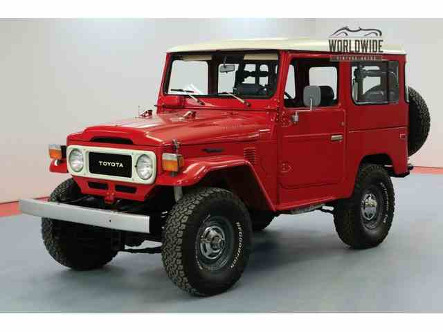 Picture of '79 Toyota Land Cruiser FJ located in Colorado - $36,900.00 - N5FL