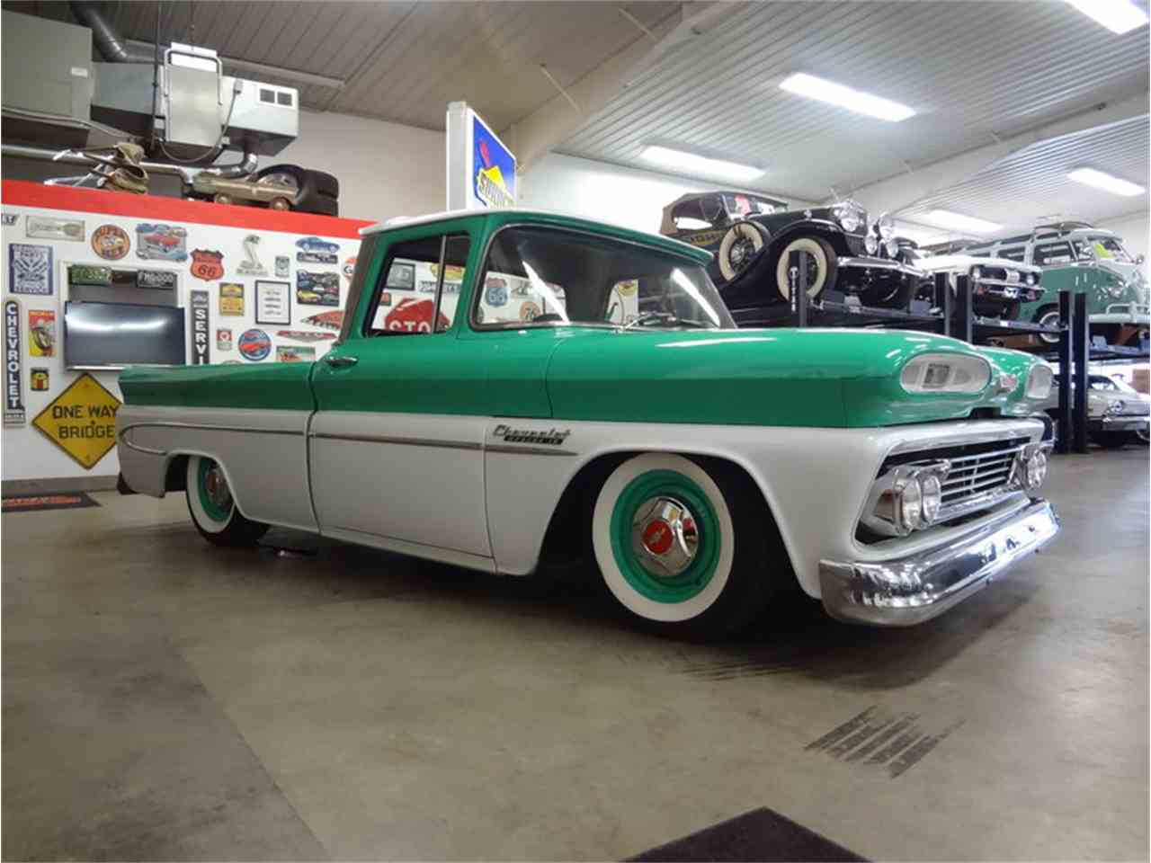 1960 chevrolet apache for sale cc 1081509. Black Bedroom Furniture Sets. Home Design Ideas