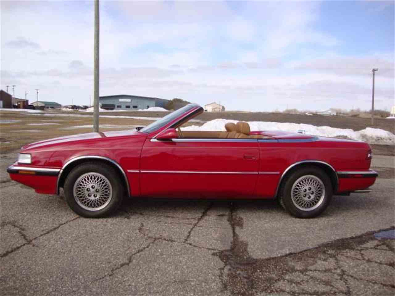 1989 Chrysler TC by Maserati for Sale | ClicCars.com | CC-1081597