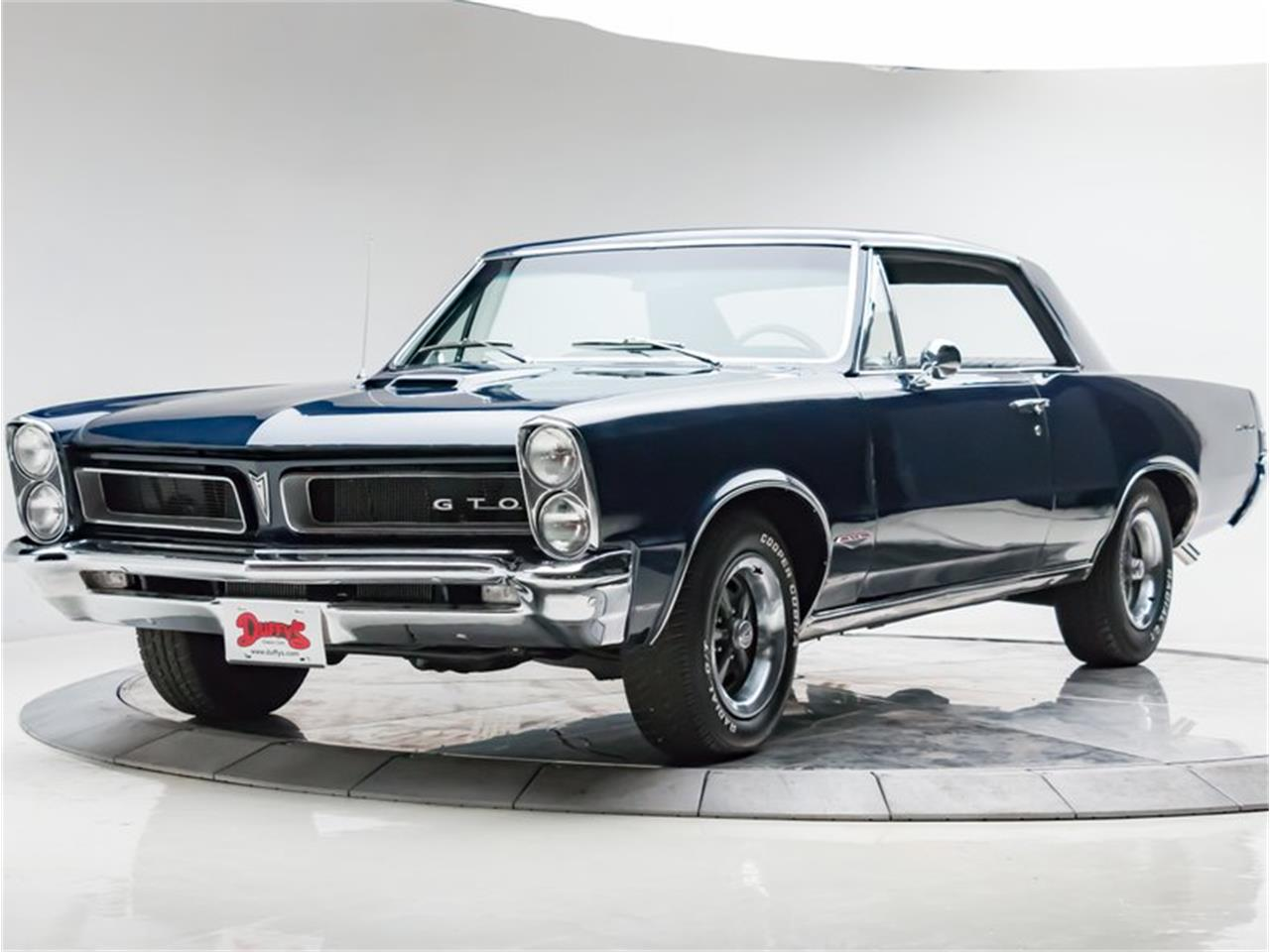 Large Picture of Classic '65 Pontiac GTO located in Cedar Rapids Iowa - $37,950.00 Offered by Duffy's Classic Cars - N6UR