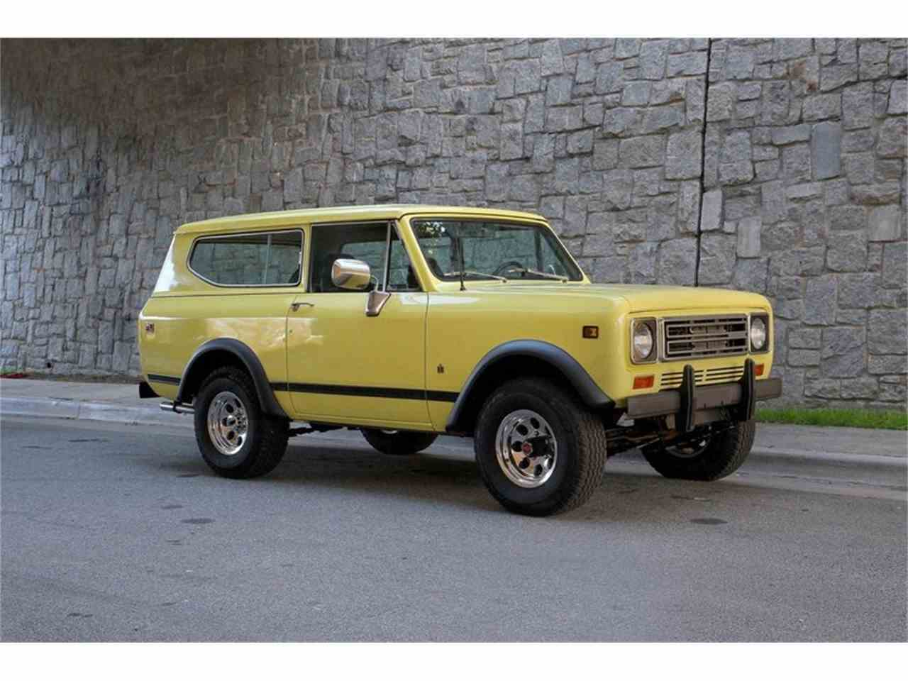 1979 international scout for sale cc 1082027. Black Bedroom Furniture Sets. Home Design Ideas
