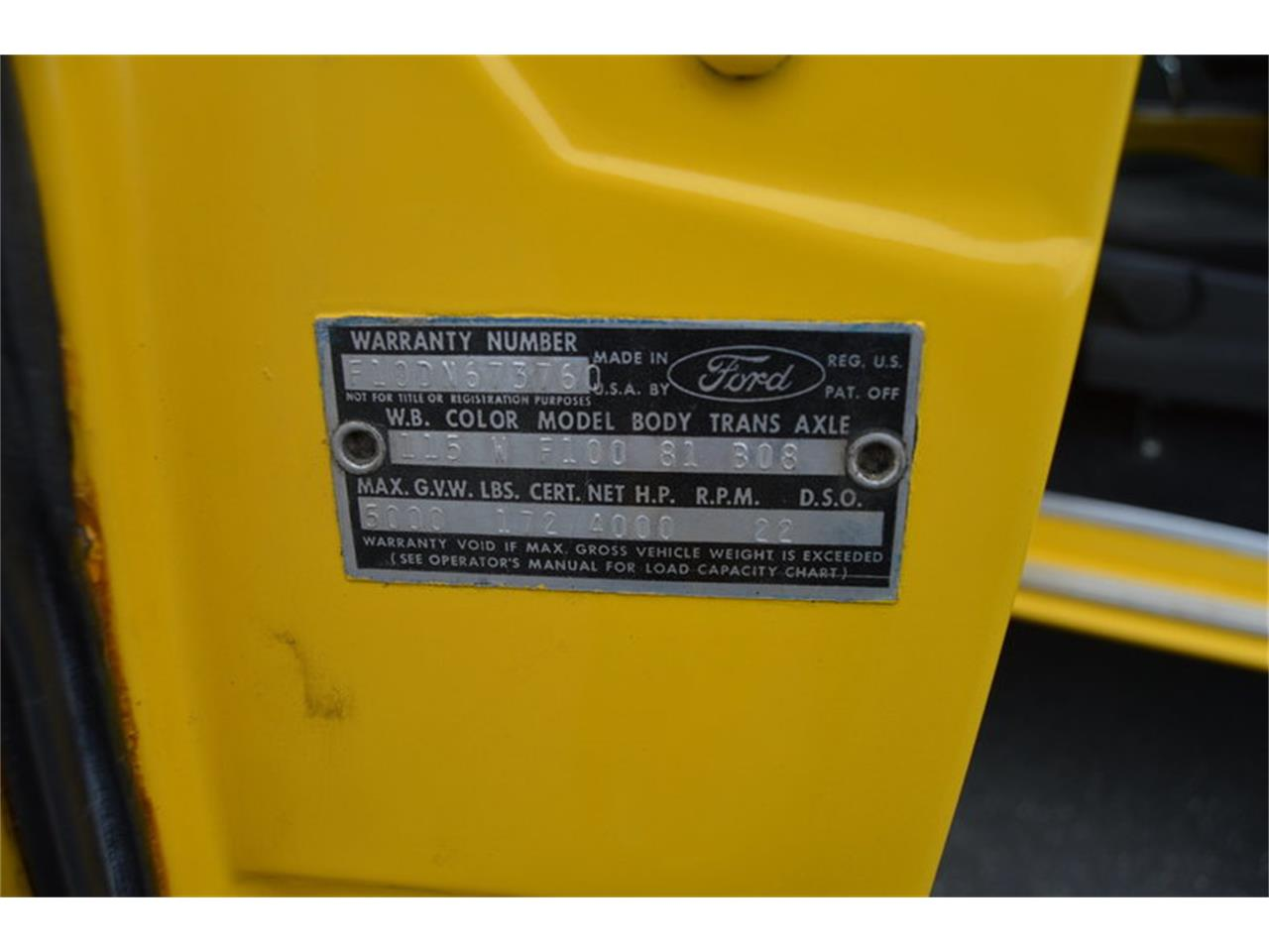 Large Picture of 1965 Ford F100 located in Massachusetts Offered by Mutual Enterprises Inc. - N5HN