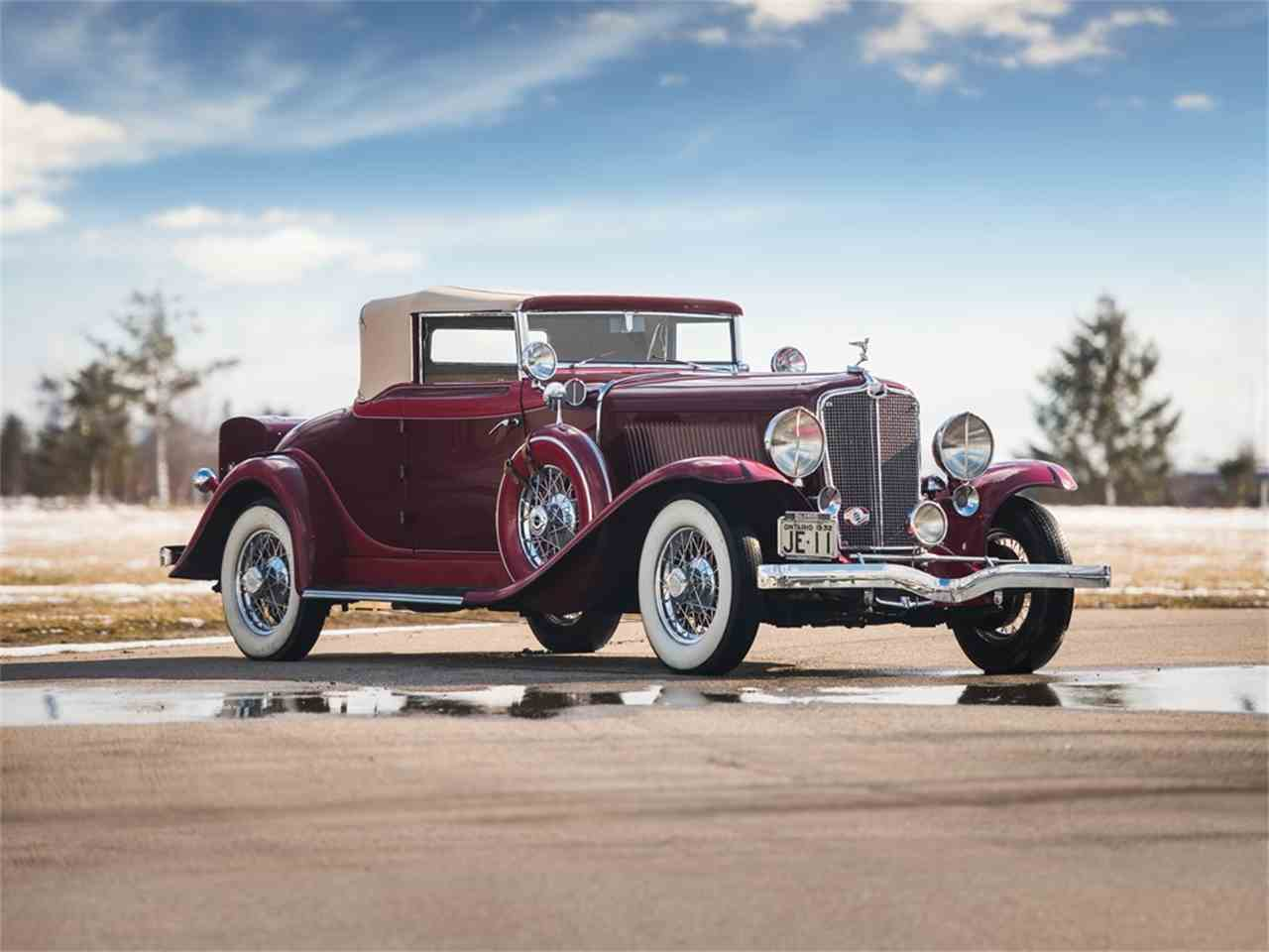 1932 Auburn Automobile For Sale