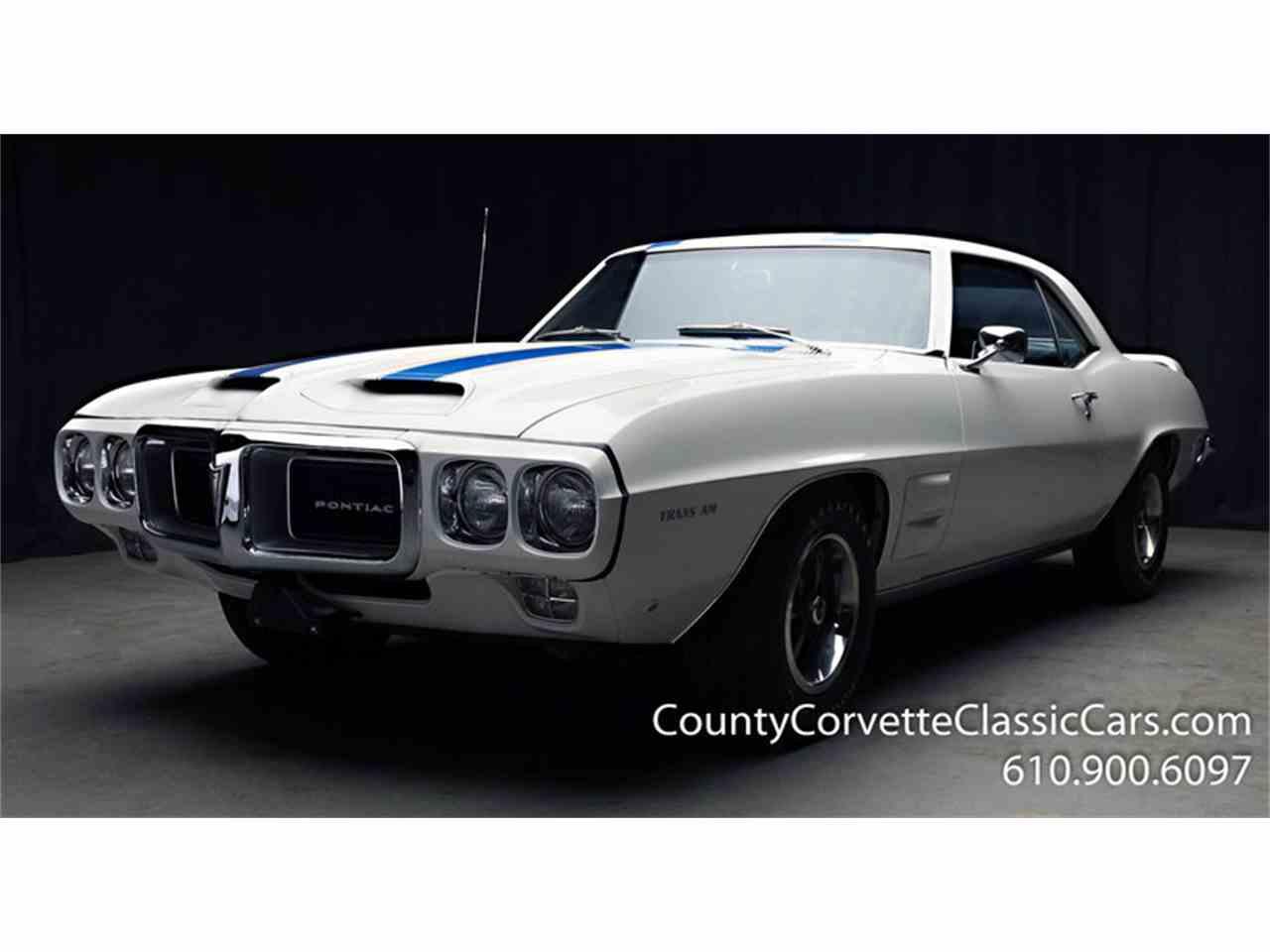 1969 Pontiac Firebird Trans Am for Sale | ClassicCars.com | CC-1082183