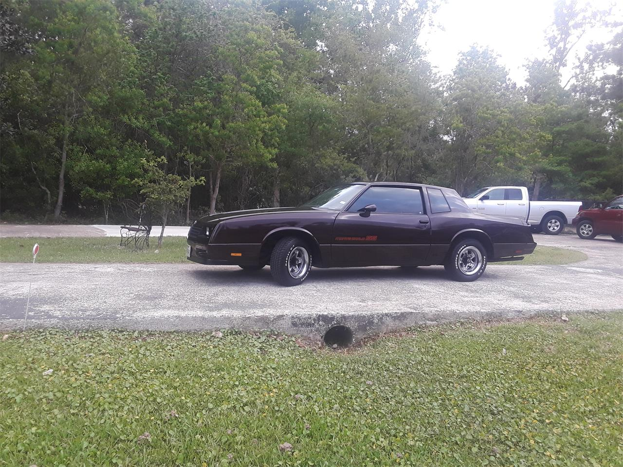 For Sale: 1985 Chevrolet Monte Carlo SS in Silsbee, Texas