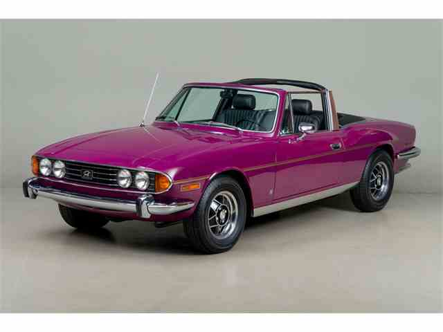 Picture of 1973 Triumph Stag located in Scotts Valley California - $67,500.00 Offered by  - N786