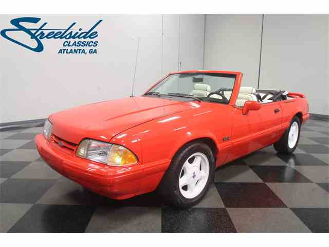 Picture of 1992 Ford Mustang located in Lithia Springs Georgia Offered by Streetside Classics - Atlanta - N798