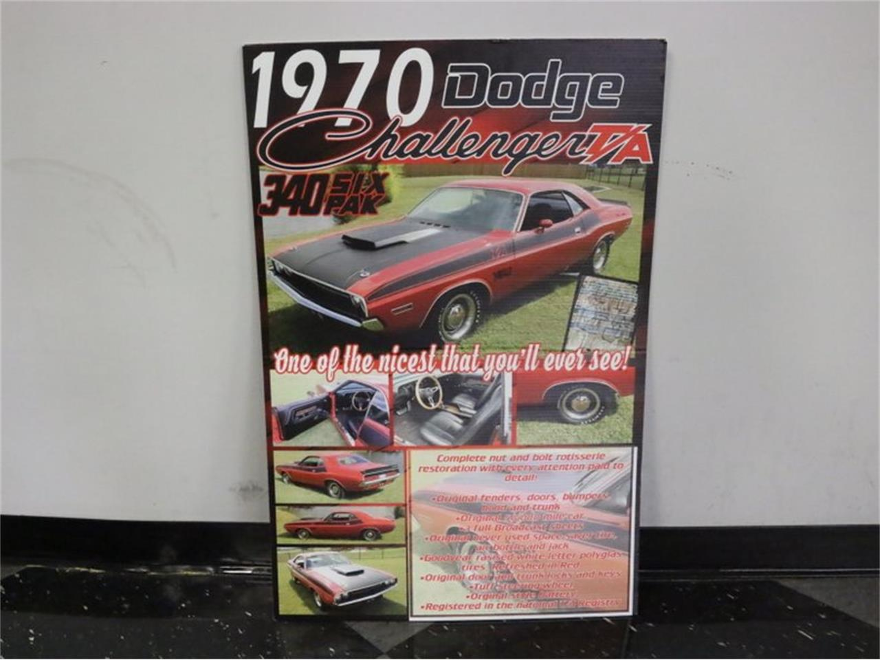 Large Picture of '70 Dodge Challenger T/A - N7CT