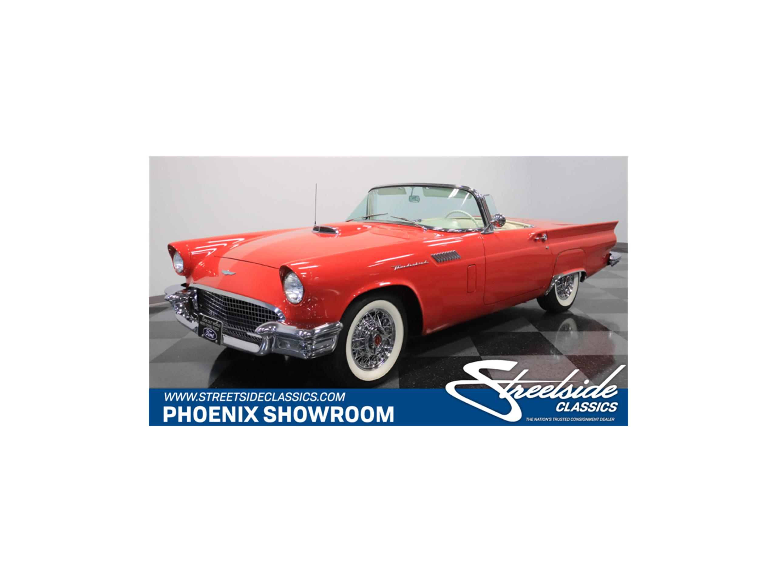 1957 ford thunderbird for sale classiccars cc 1082725 large picture of 57 thunderbird n7fp publicscrutiny Images