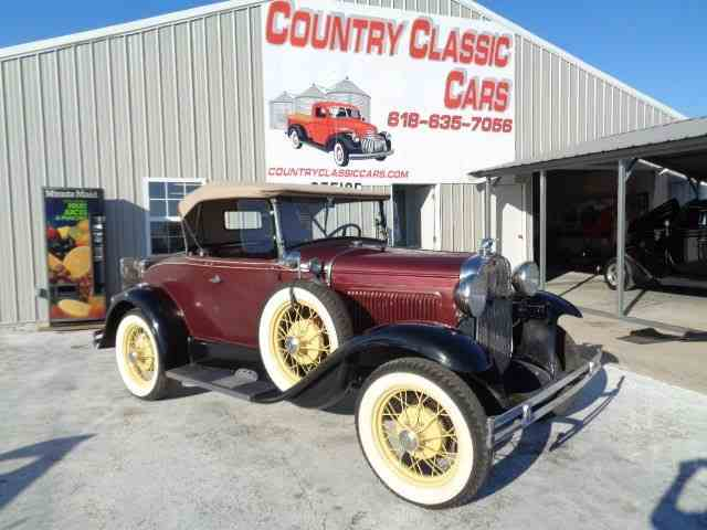 Picture of Classic '30 Ford Model A located in Illinois - $16,450.00 Offered by Country Classic Cars - N7HA