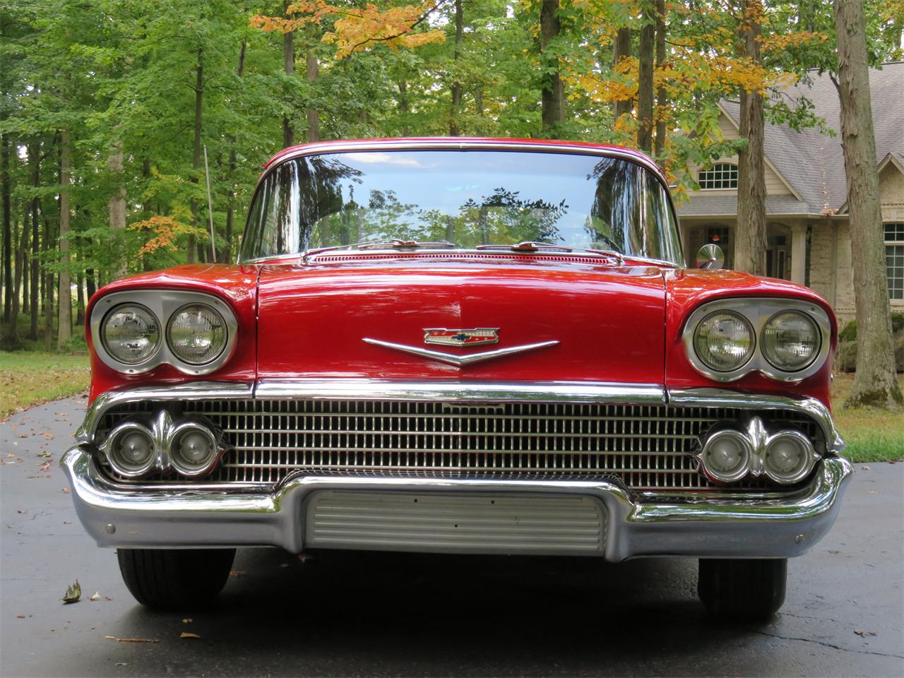 Large Picture of '58 Chevrolet Biscayne located in Indiana Offered by Earlywine Auctions - N5K4