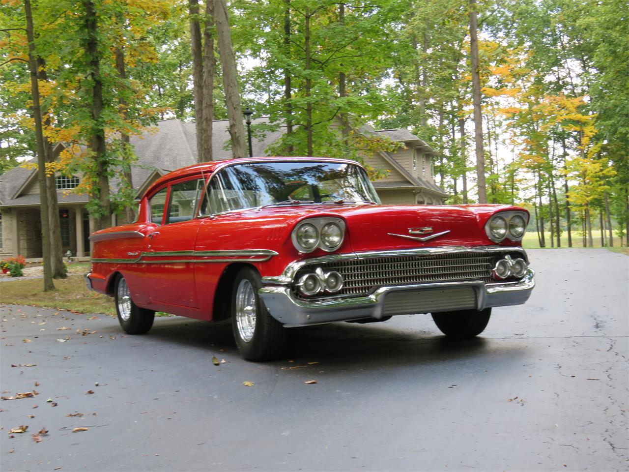 Large Picture of 1958 Chevrolet Biscayne Auction Vehicle Offered by Earlywine Auctions - N5K4