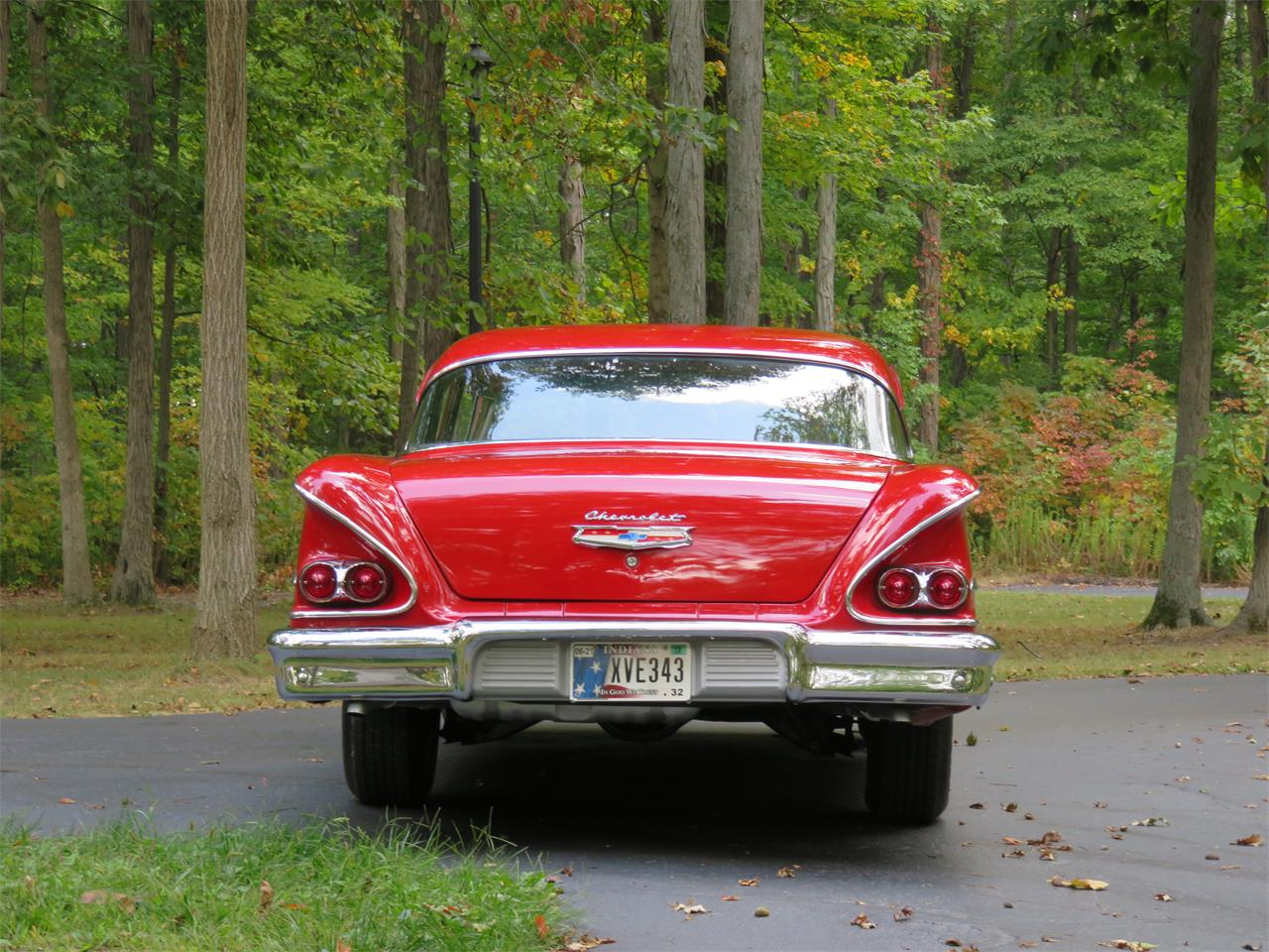 Large Picture of '58 Biscayne located in Indiana Offered by Earlywine Auctions - N5K4