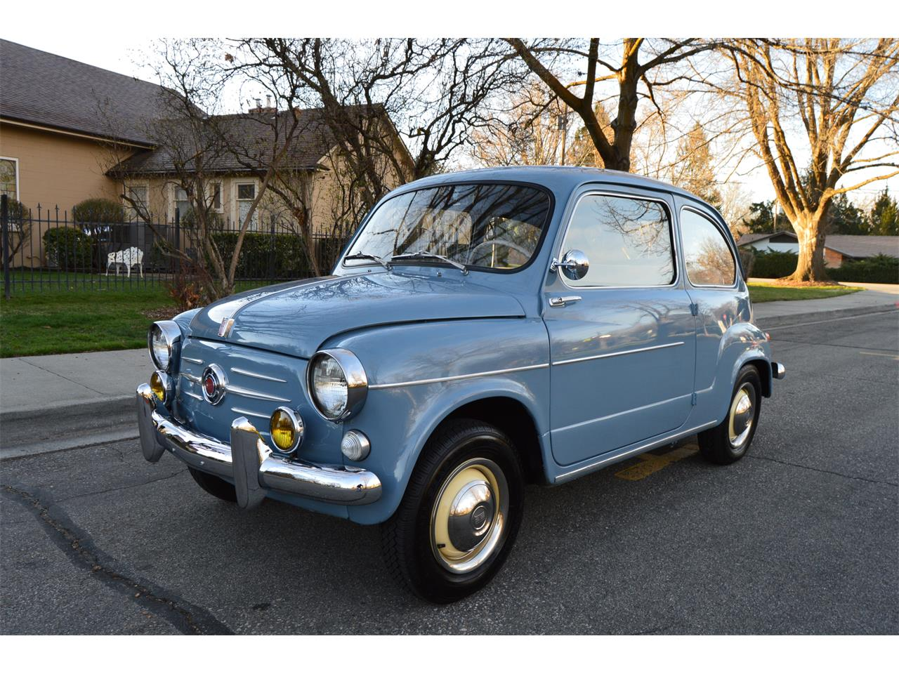 1959 fiat 600 for sale cc 1082986. Black Bedroom Furniture Sets. Home Design Ideas