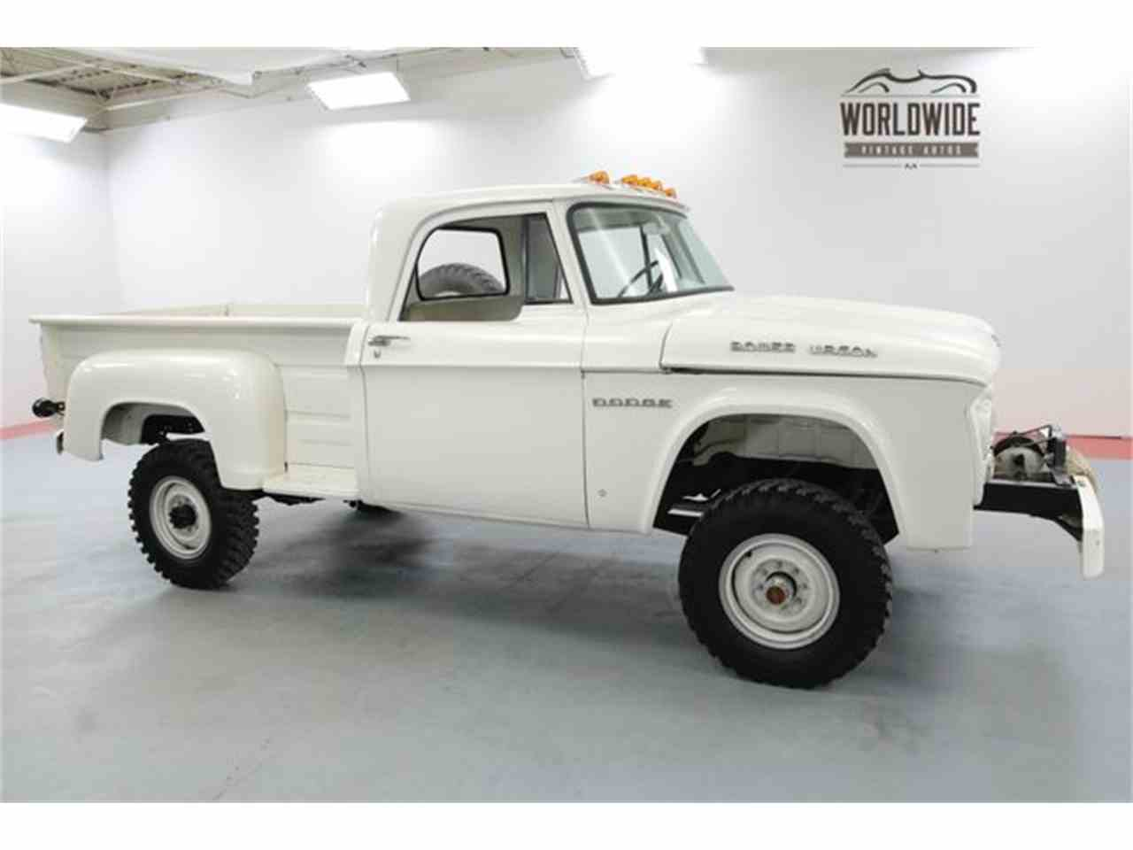 1964 Dodge Power Wagon for Sale | ClassicCars.com | CC-1083099