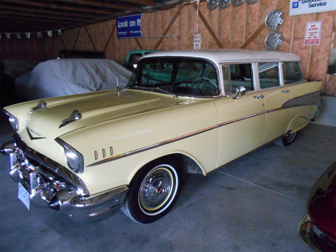 Large Picture of Classic 1957 Bel Air Wagon located in Ontario - N7TI