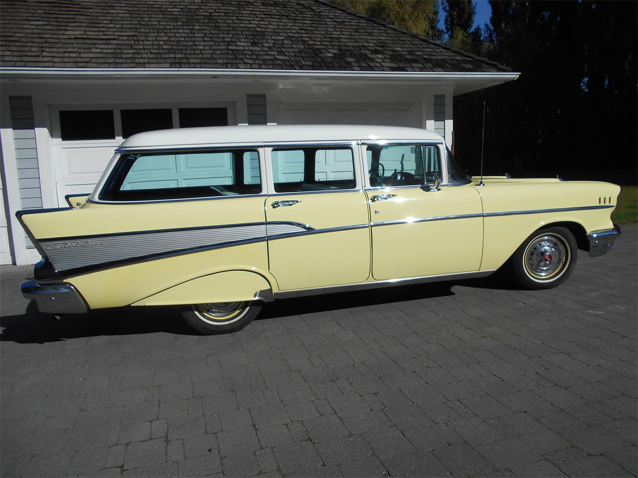 Large Picture of Classic '57 Bel Air Wagon - N7TI