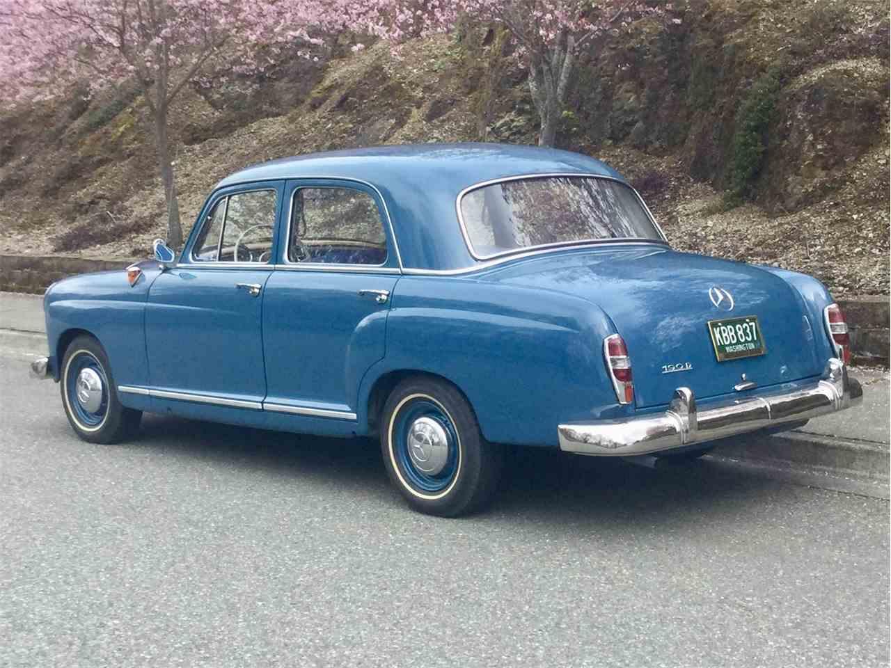1960 Mercedes-Benz 190 for Sale | ClassicCars.com | CC-1083514