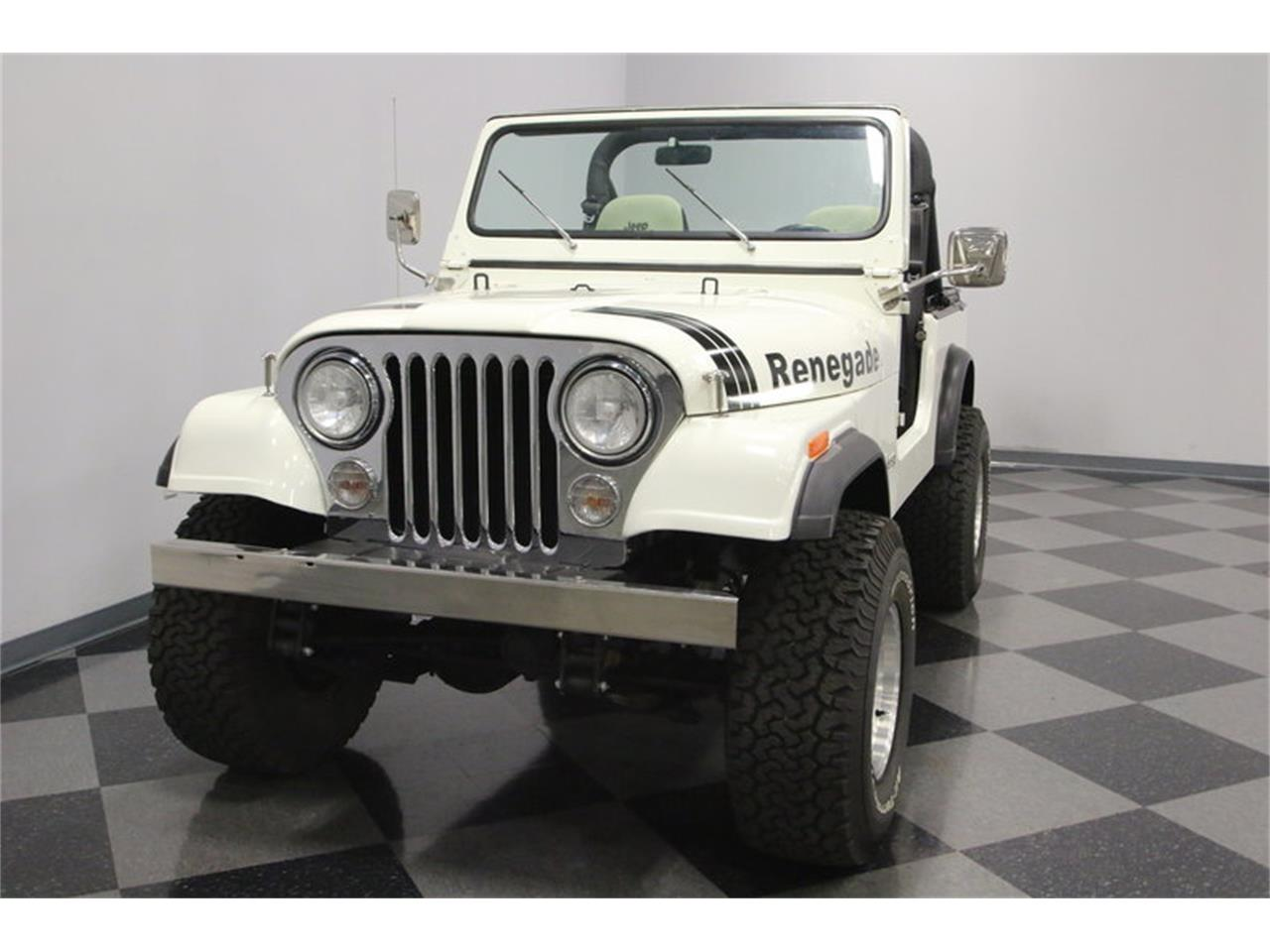 Large Picture of '84 Jeep CJ7 located in Lavergne Tennessee Offered by Streetside Classics - Nashville - N82C