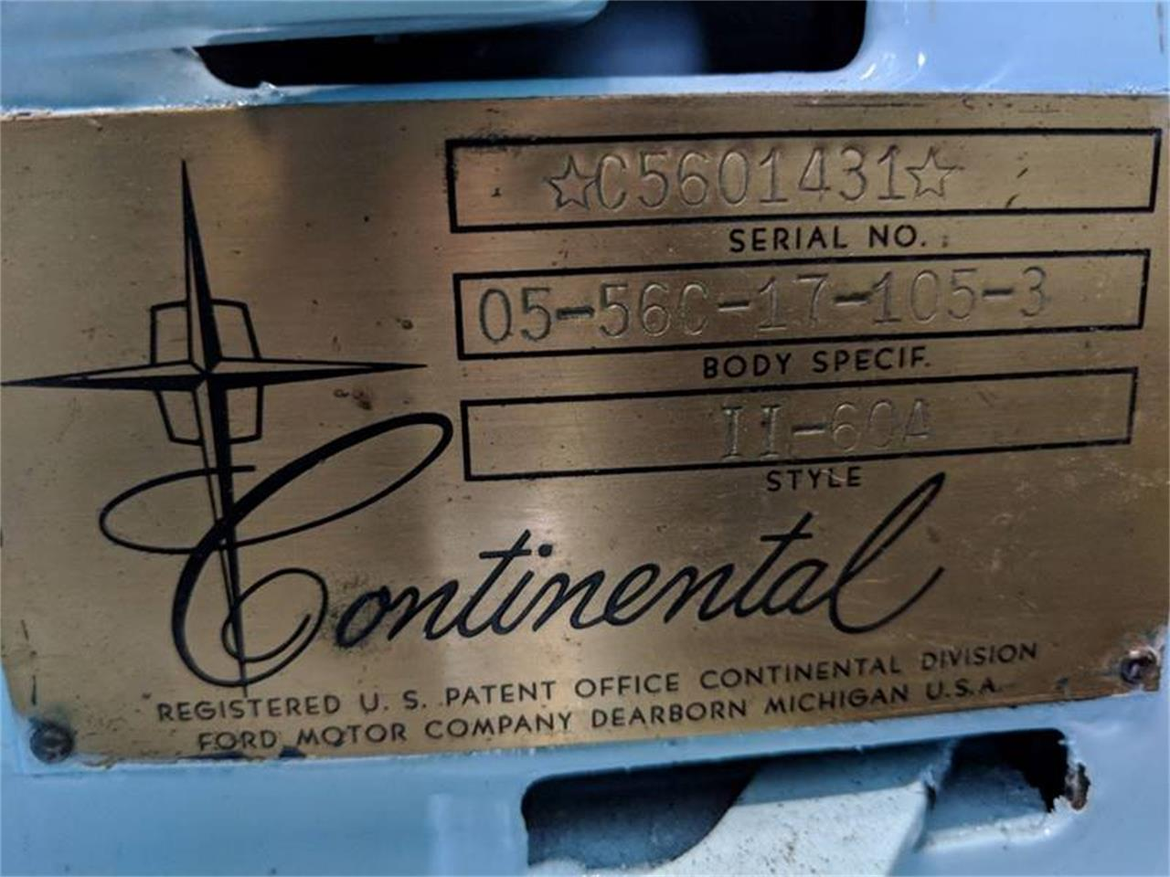 Large Picture of Classic '56 Lincoln Continental located in St. Charles Illinois - $25,000.00 - N84L