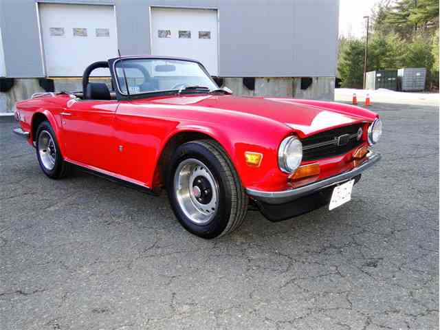 Picture of '72 TR6 - N8BT
