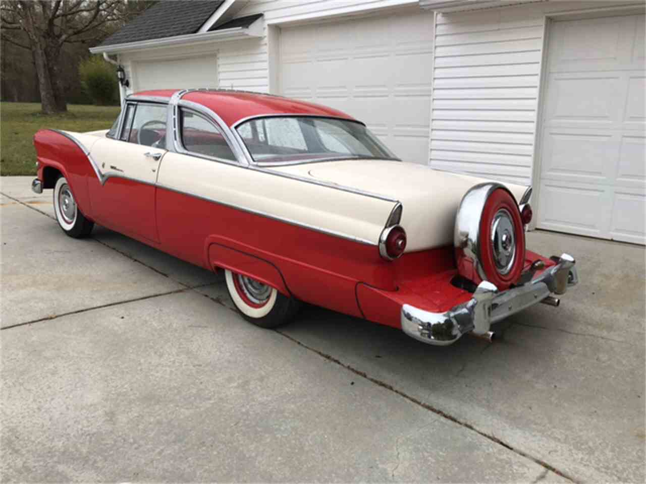 Large Picture of 1955 Crown Victoria - N8DU