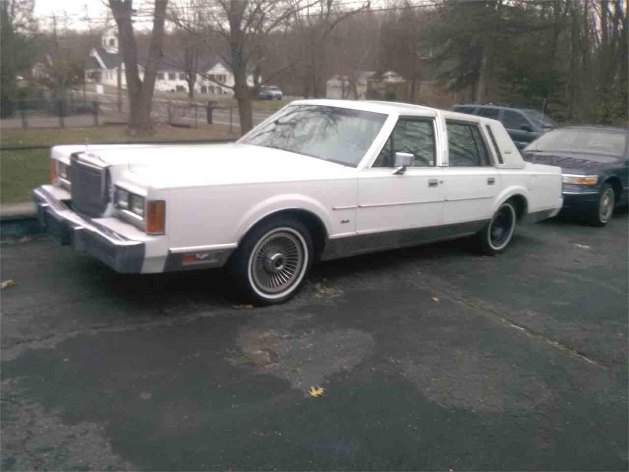 1989 Lincoln Town Car for Sale | ClicCars.com | CC-1084029