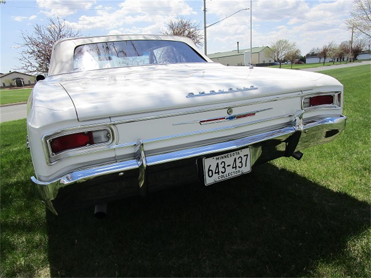 Large Picture of Classic '66 Chevrolet Malibu located in Dodge Center Minnesota - $37,900.00 Offered by McGeorge Classics - N8G5