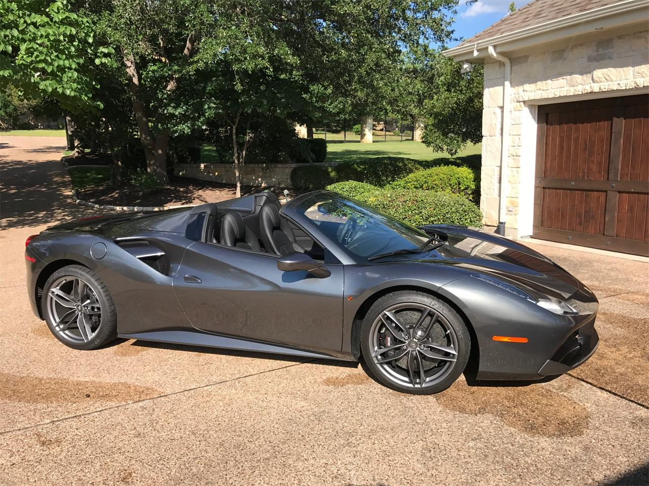 2017 Ferrari 488 Spider >> For Sale 2017 Ferrari 488 Spider In Austin Texas