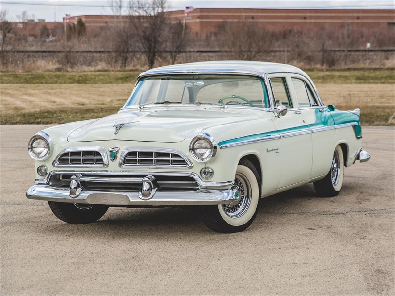 Large Picture of '55 Chrysler Windsor located in Auburn Indiana Auction Vehicle Offered by RM Sotheby's - N8RK