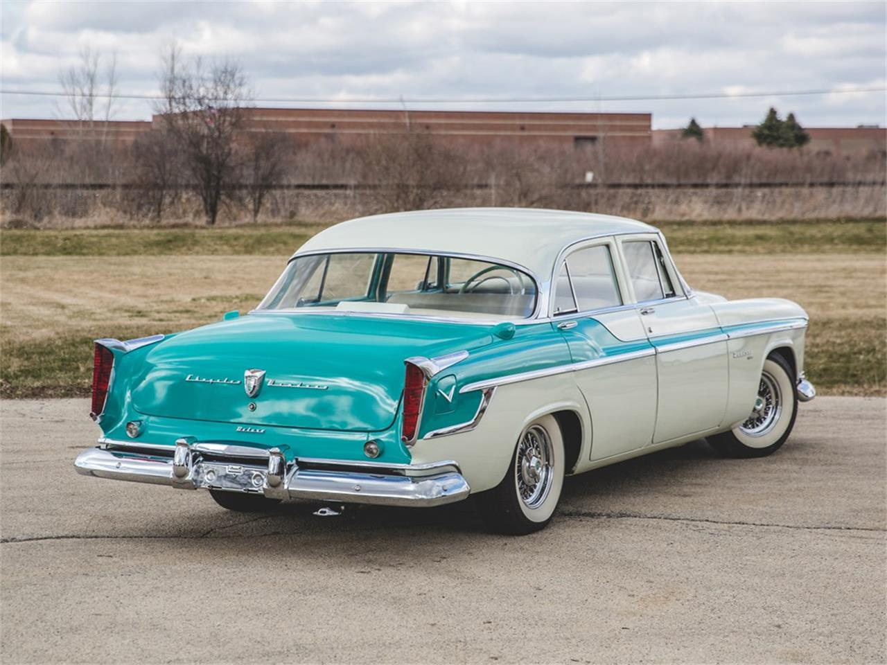 Large Picture of Classic 1955 Chrysler Windsor located in Auburn Indiana Auction Vehicle - N8RK