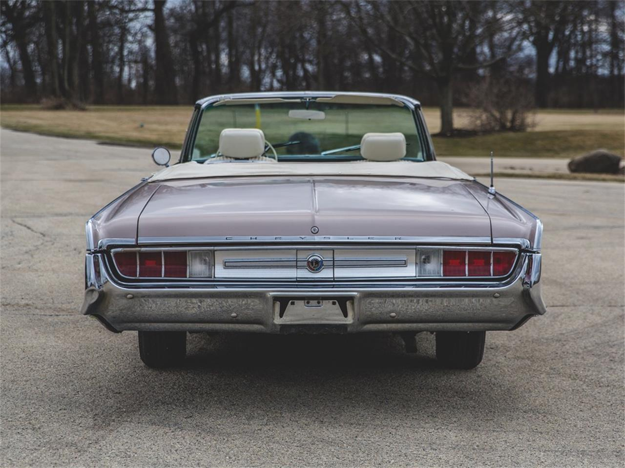 Large Picture of 1965 Chrysler 300L Convertible Auction Vehicle - N8S4