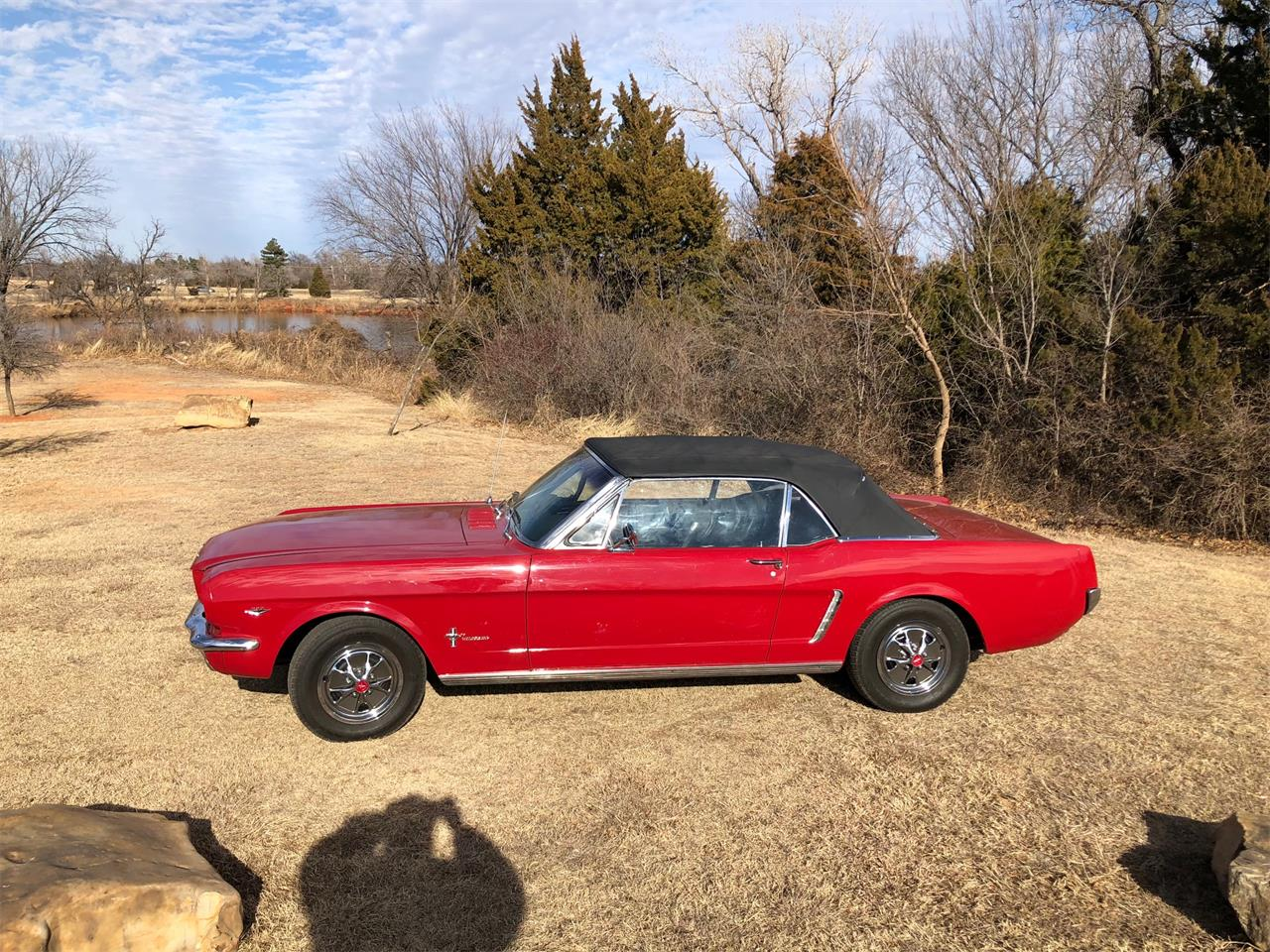 Large Picture of Classic '65 Ford Mustang located in Texas Auction Vehicle Offered by Vicari Auction - N8T8