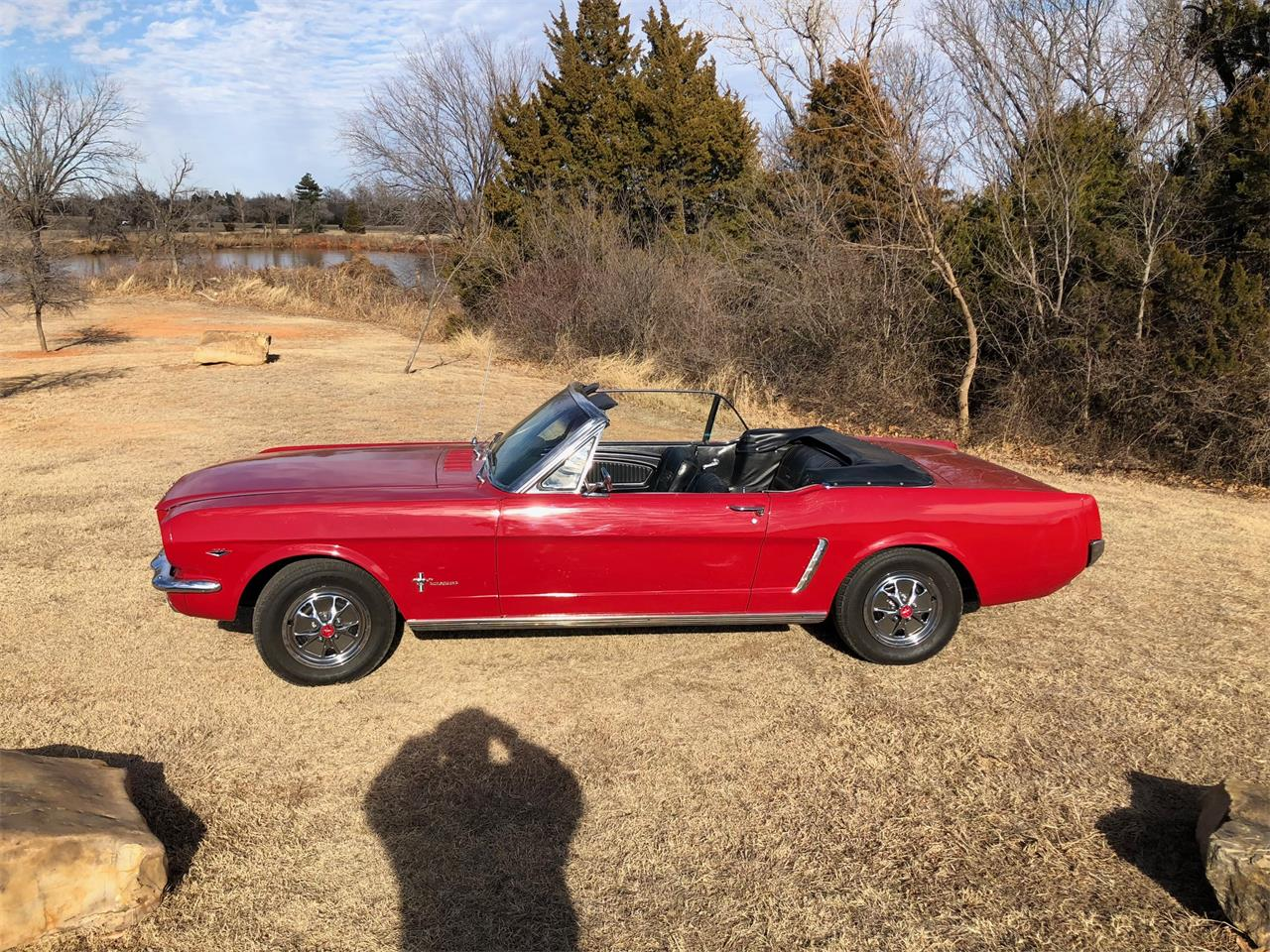 Large Picture of 1965 Ford Mustang located in Texas Auction Vehicle Offered by Vicari Auction - N8T8