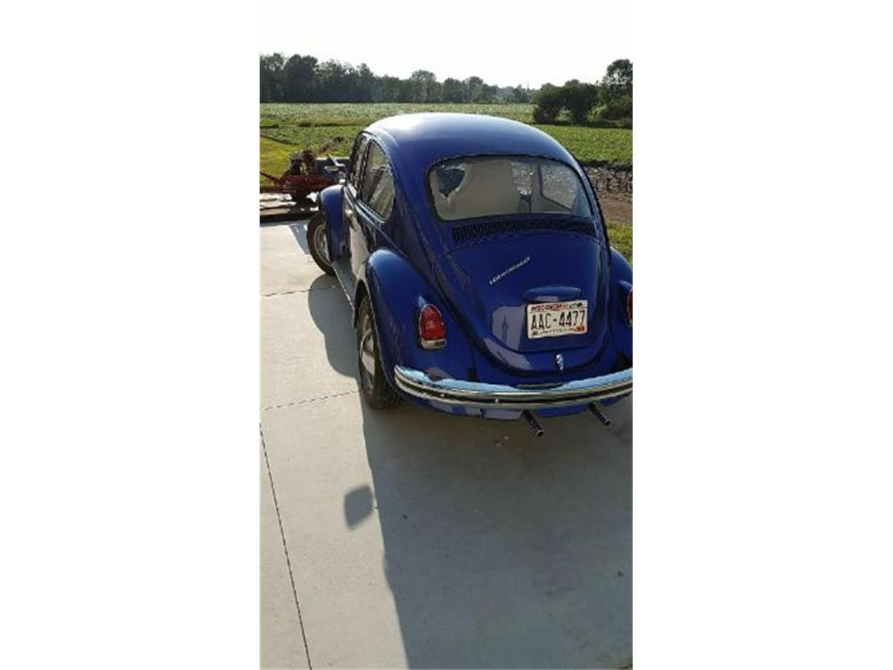 Large Picture of Classic 1969 Beetle located in Cadillac Michigan - N8WT