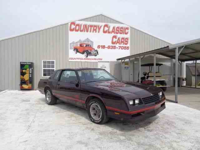Picture of '87 Monte Carlo - N8Y5
