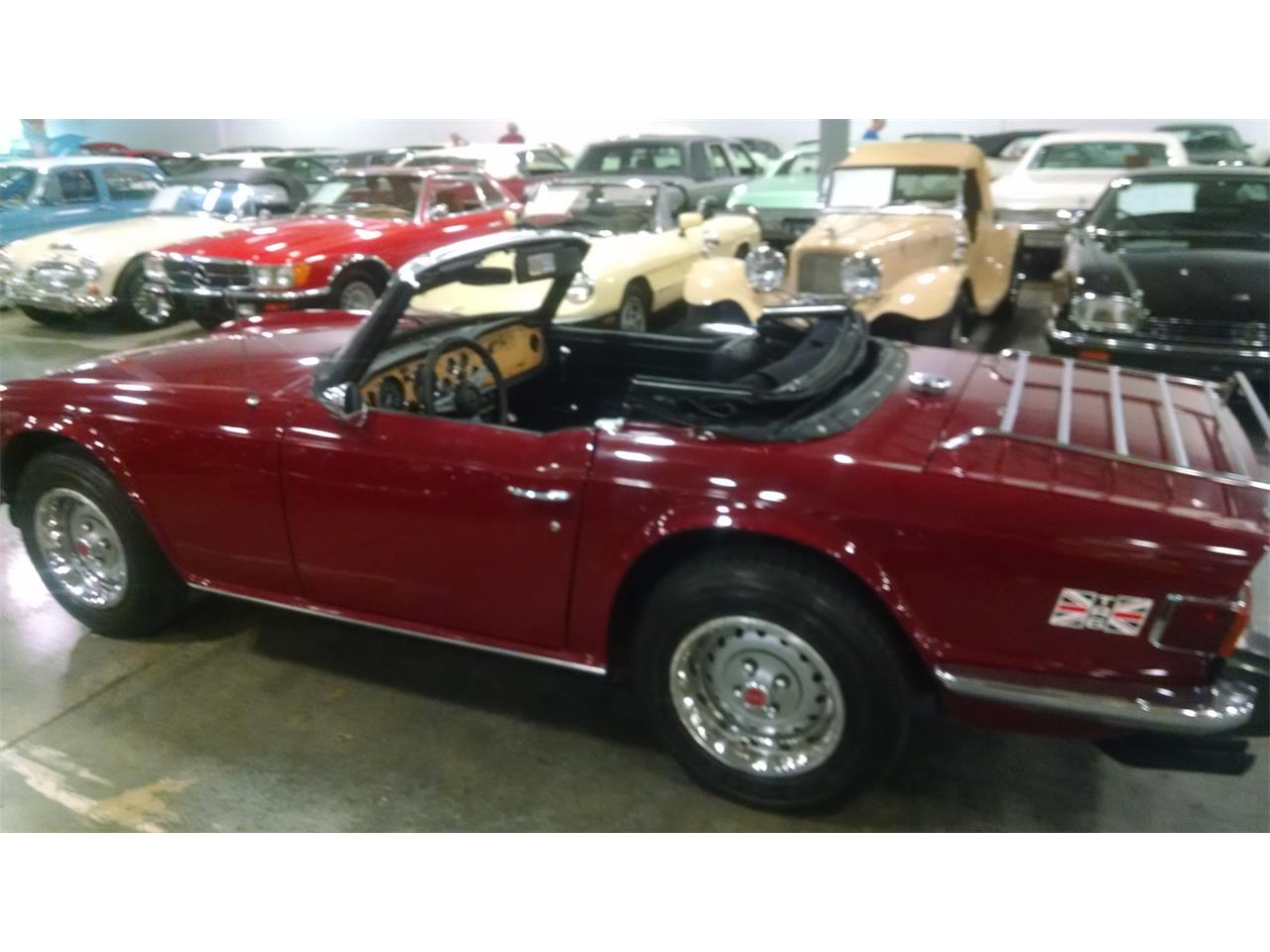 Large Picture of '74 TR6 - N93H