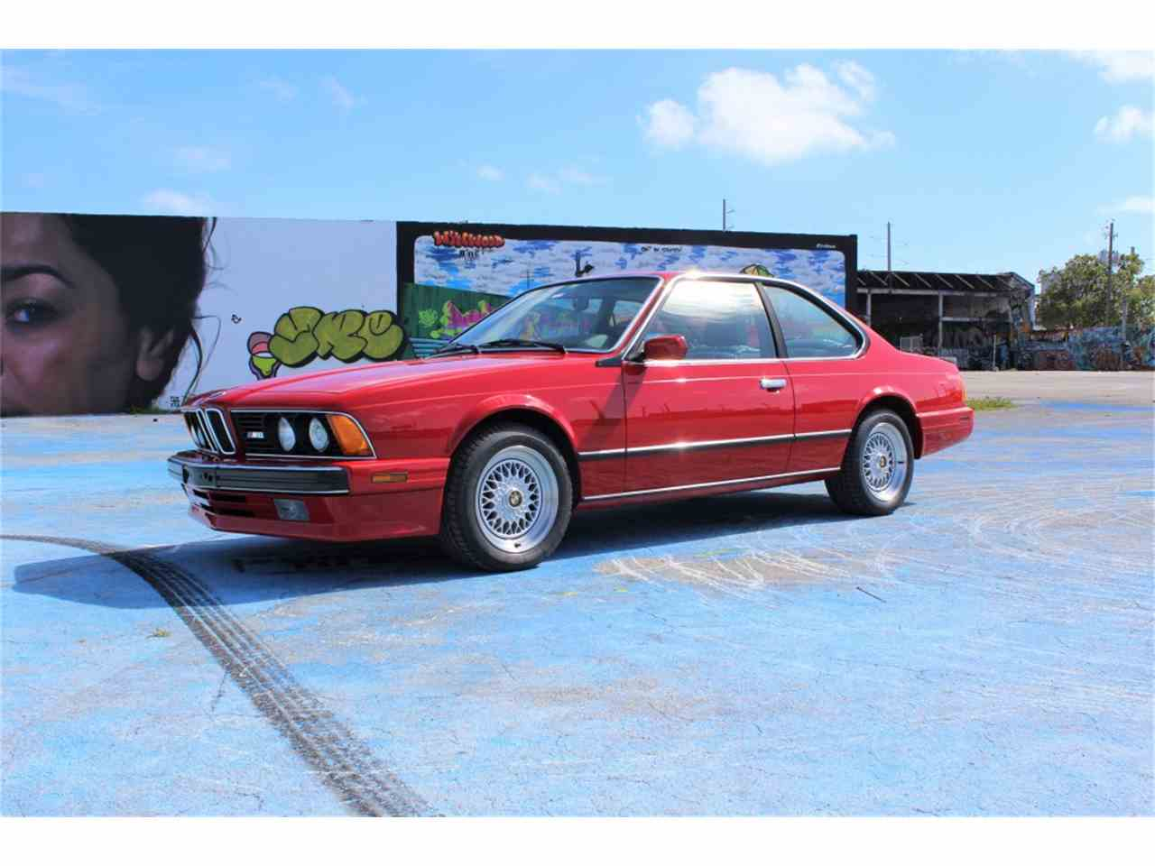 Large Picture of '88 BMW M6 located in Florida - N95L
