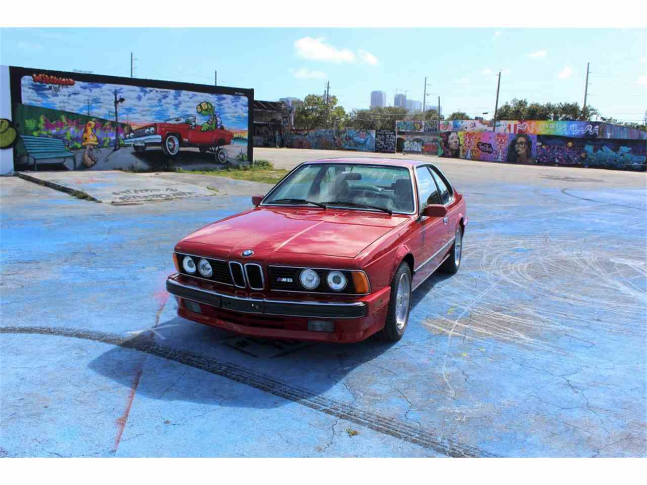 Large Picture of 1988 M6 located in Florida Offered by Auto Source Group LLC - N95L