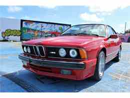 Picture of '88 BMW M6 located in Florida Offered by Auto Source Group LLC - N95L