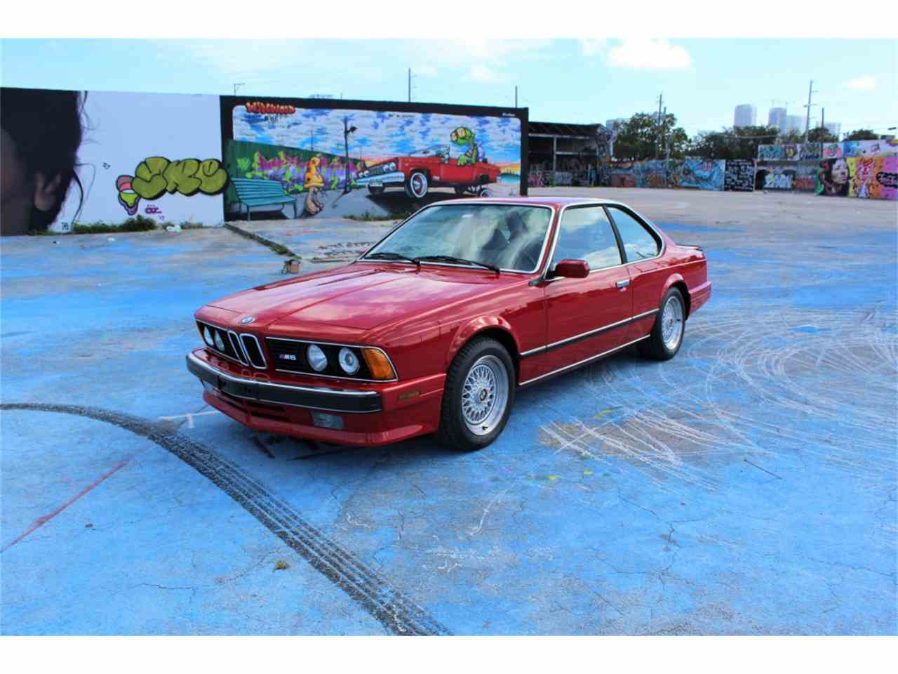 Large Picture of '88 M6 located in Doral Florida - N95L