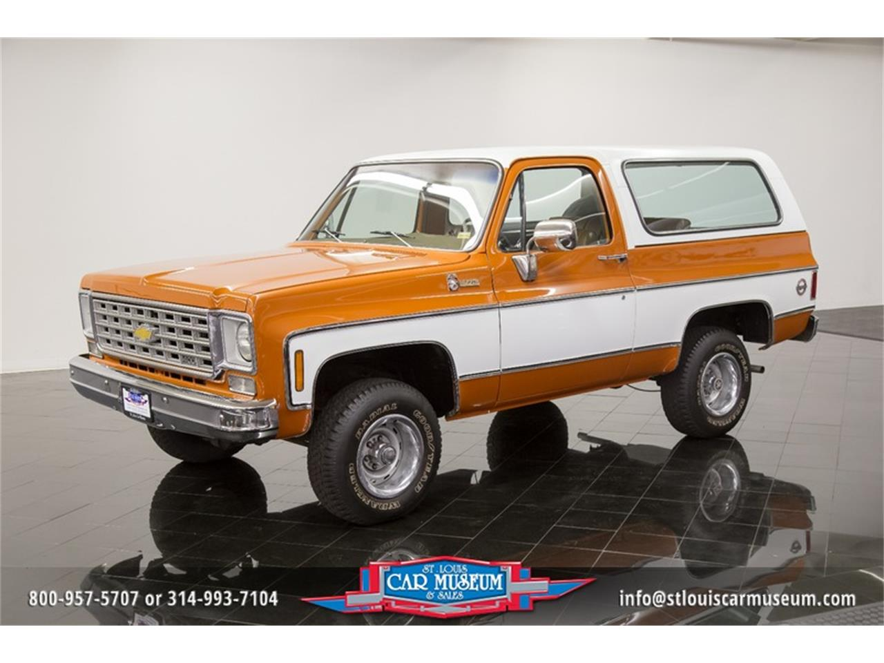 1976 Chevrolet K5 Blazer For Sale Cc 1085088 Chevy Car Large Picture Of 76 N99c