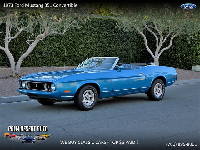Picture of Classic '73 Ford Mustang located in Palm Desert  California Offered by  - N9E3