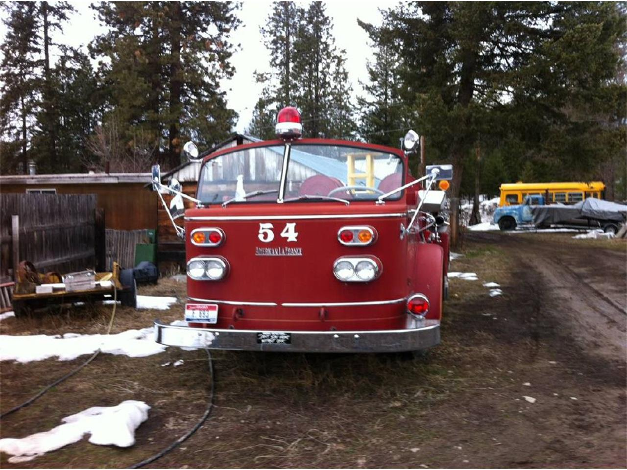 1954 American Lafrance Fire Engine For Sale Classiccars